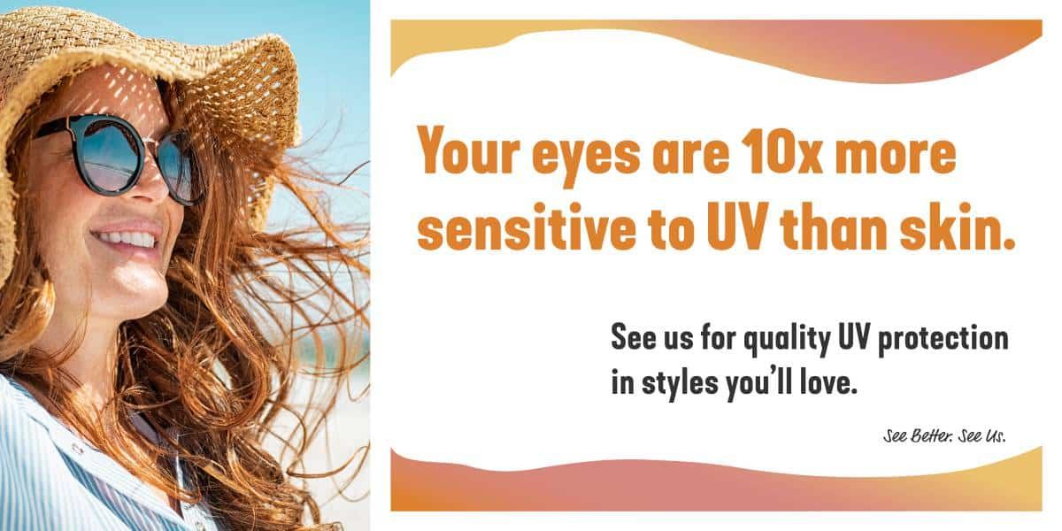 UV effect on eyes