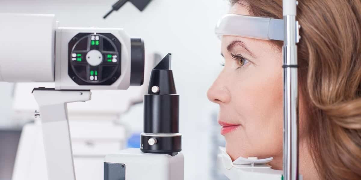 slit lamp eye test noosa optical