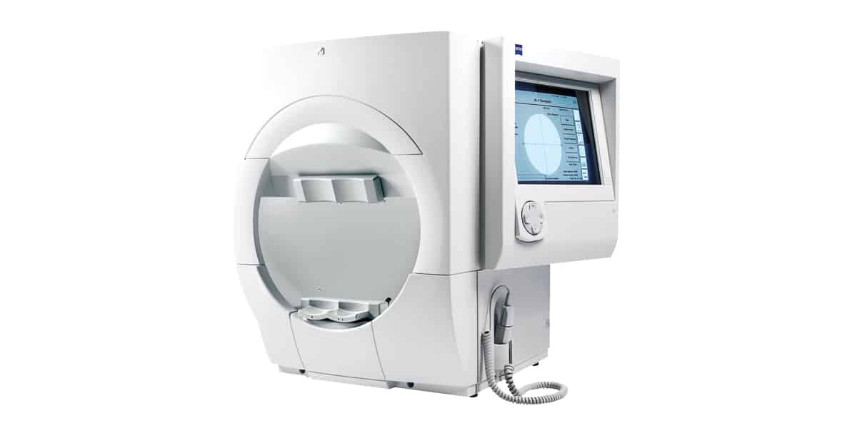 humphrey visual field test machine