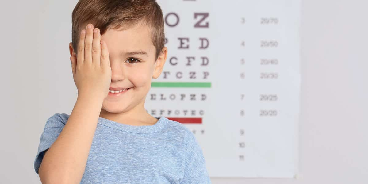 children's eye test